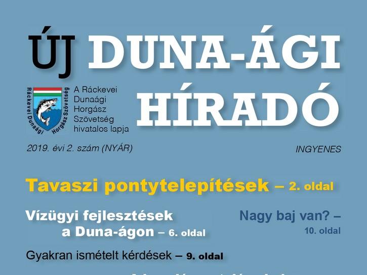 Megjelent az Új Duna-ági Híradó nyári száma