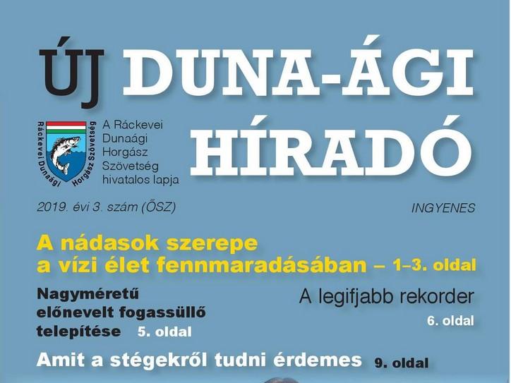 Megjelent az Új Duna-ági Híradó őszi száma