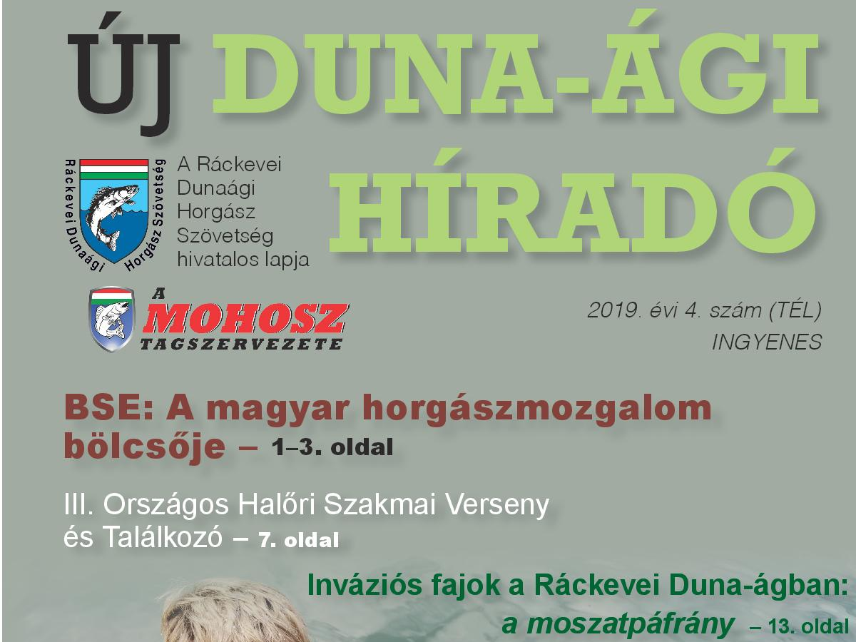 Megjelent az Új Duna-ági Híradó téli száma